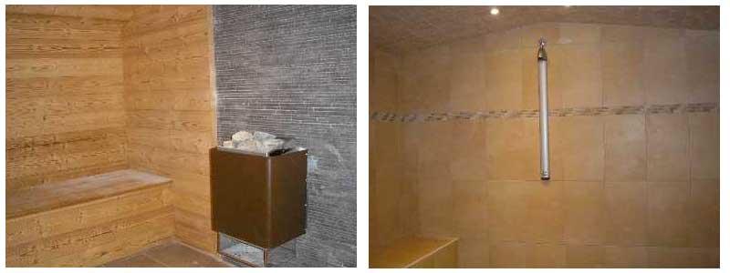 sauna et hammam